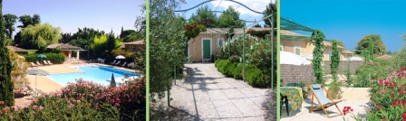 self-catering accommodation provence : les jardins de Fontanille
